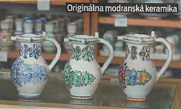 Originálna modranská keramika